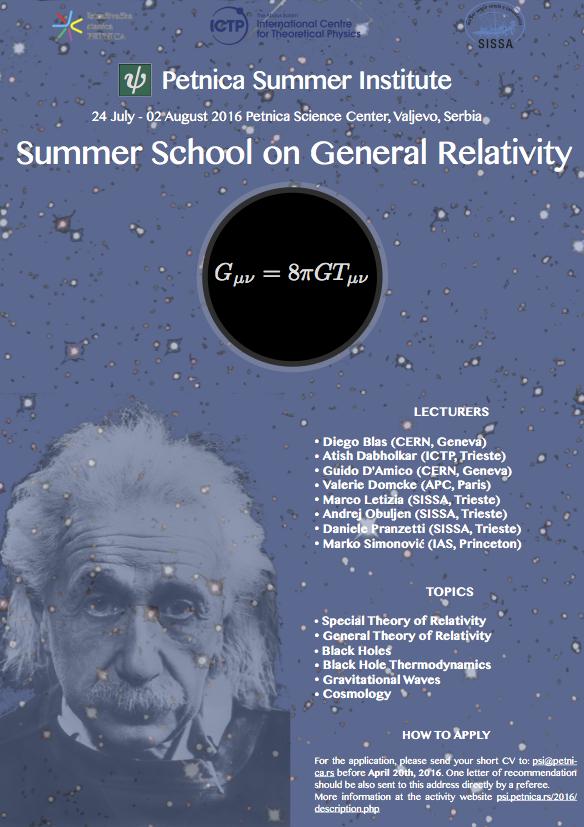 Petnica Summer Institute